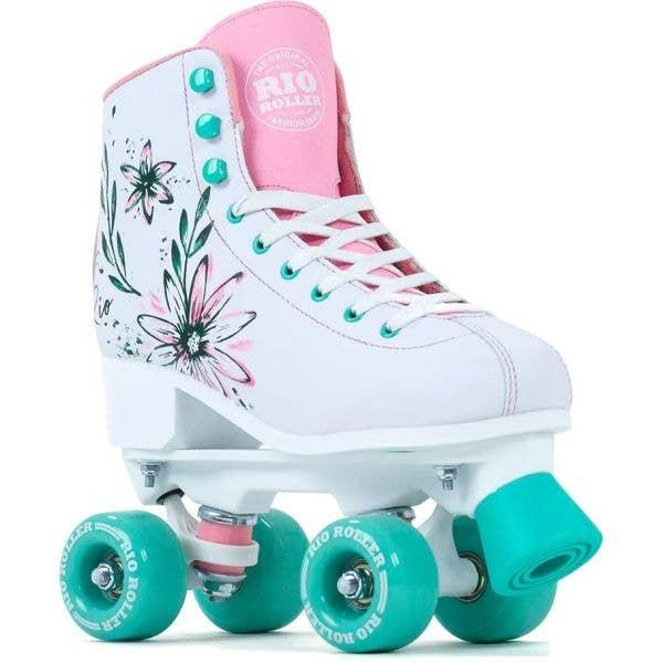 Rio Roller Artist Quad Roller Skates - Flora