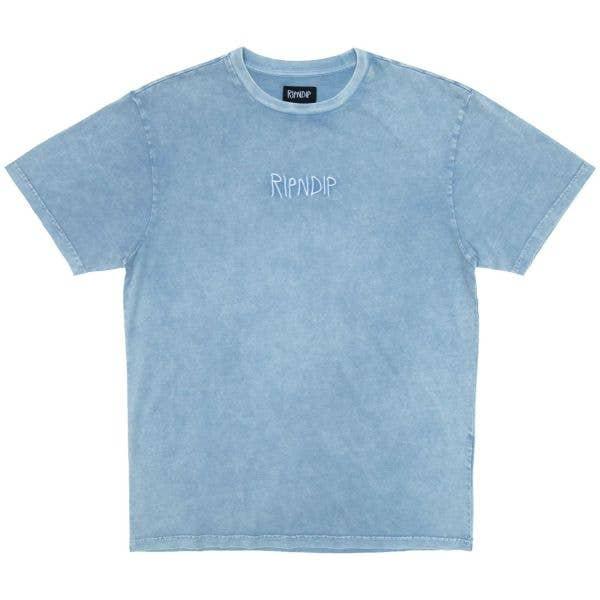 RIPNDIP La Brea T Shirt - Light Blue