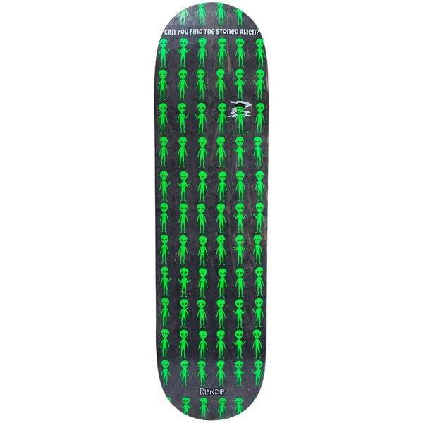RIPNDIP Stoned Again Skateboard Deck - Black 8.0''