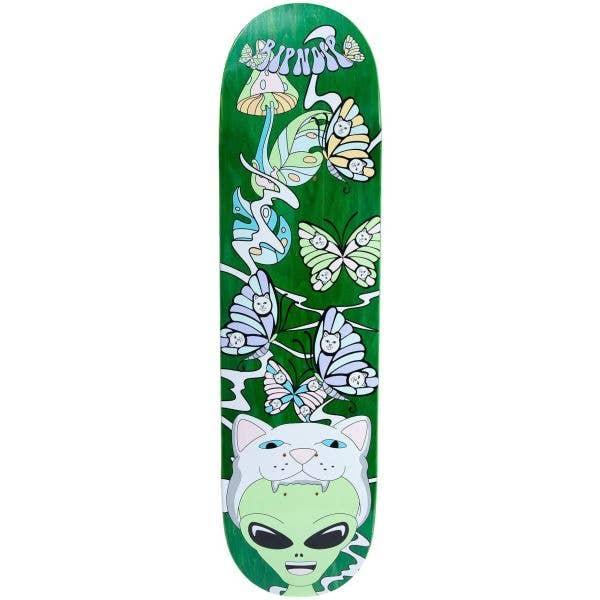 RIPNDIP Think Factory Skateboard Deck - Green 8.25''