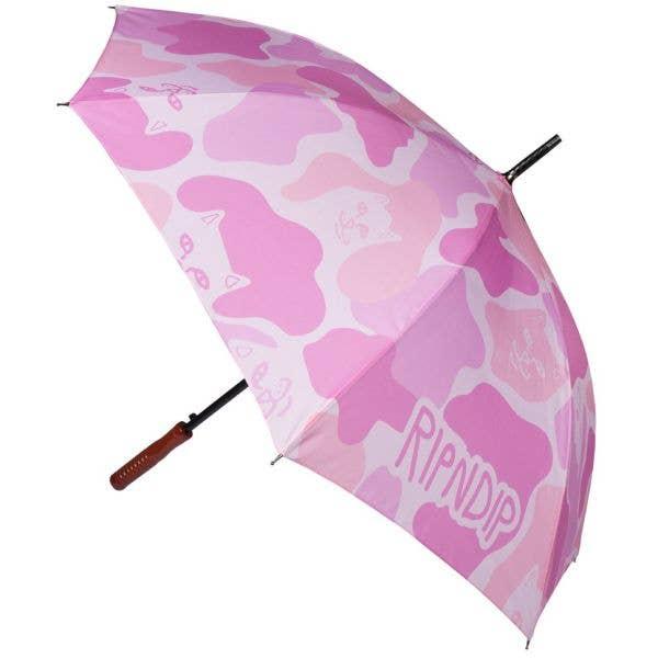 RIPNDIP Pink Camo Umbrella