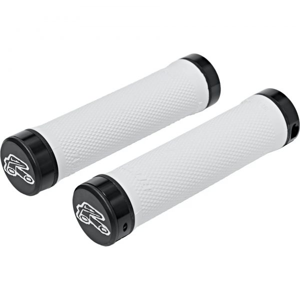 Renthal Super Soft Compound 130mm Lock-On Mountain Bike Grips - Off White