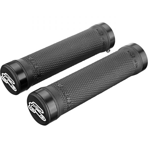 Renthal Ultra Tacky Compound 130mm Lock-On Mountain Bike Grips - Black
