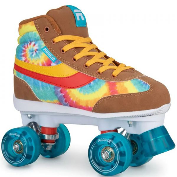 Rookie Legacy Quad Roller Skates - Tie Dye