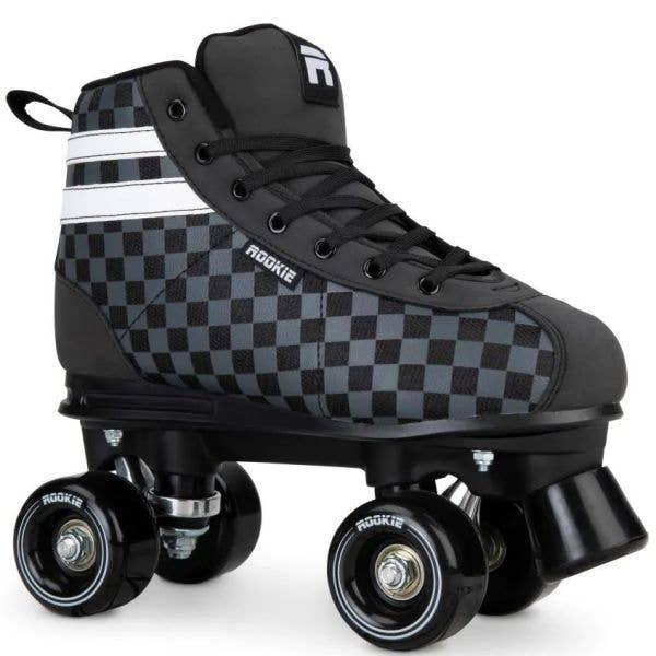 Rookie Magic Quad Roller Skates - Checker