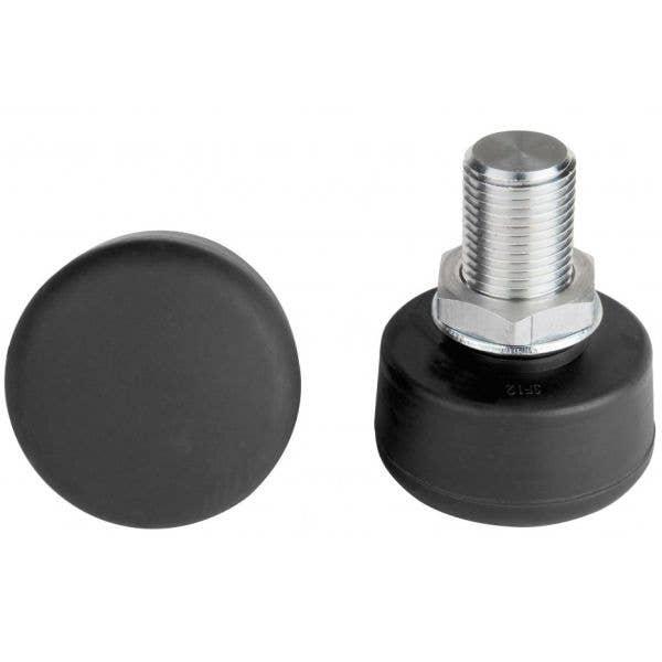 Rookie Adjustable Roller Skate Toe Stops - Black (2PK)