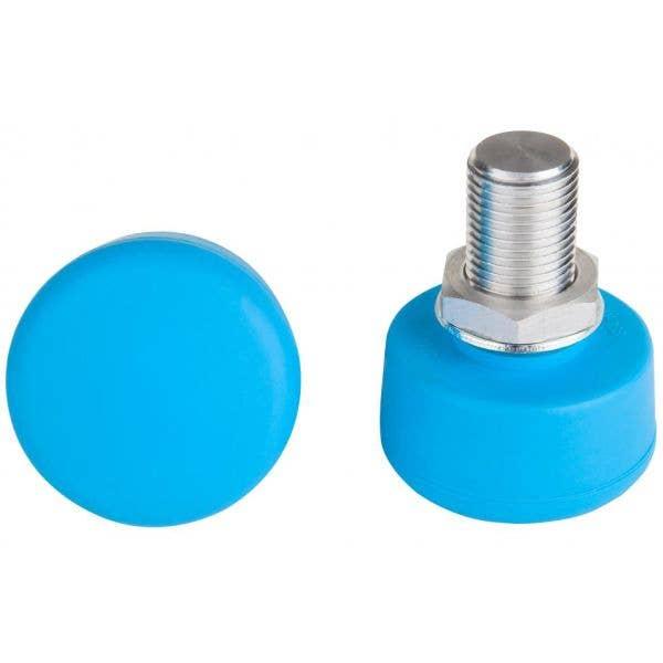 Rookie Adjustable Roller Skate Toe Stops - Blue (2PK)