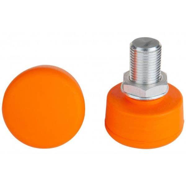 Rookie Adjustable Roller Skate Toe Stops - Orange (2PK)