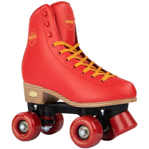 Rookie Classic 78 Quad Roller Skates - Red