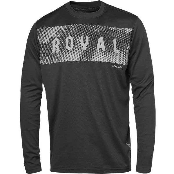 Royal Quantum Long Sleeve Jersey - Black