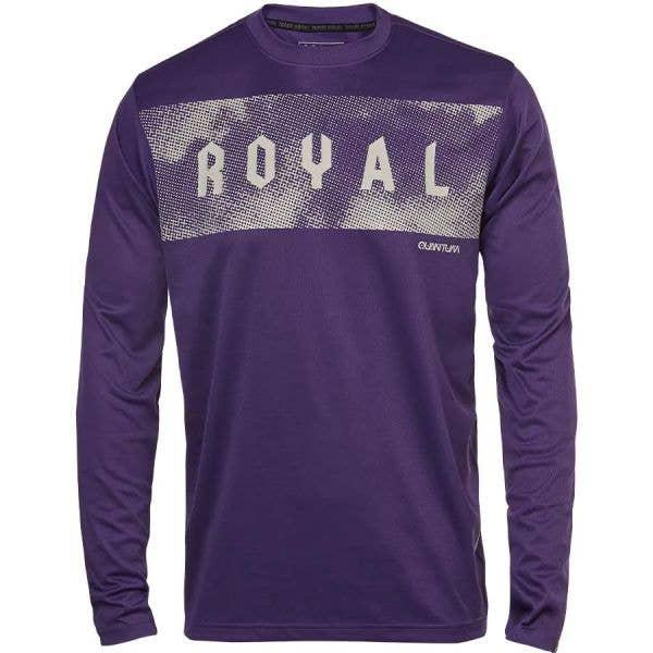 Royal Quantum Long Sleeve Jersey - Deep Purple