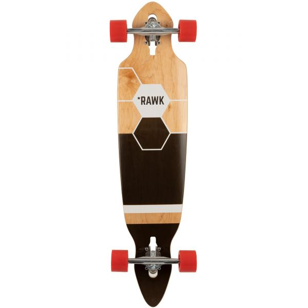Rawk R6 Riot Pintail Complete Longboard - 39''