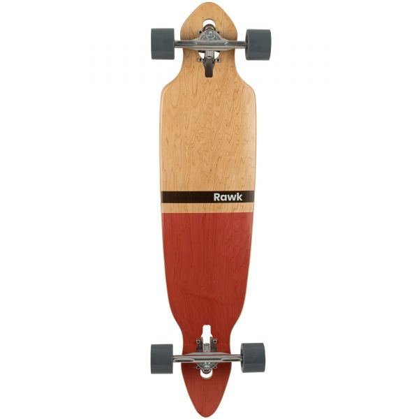 Rawk R7 Remix Pintail Complete Longboard - 39''