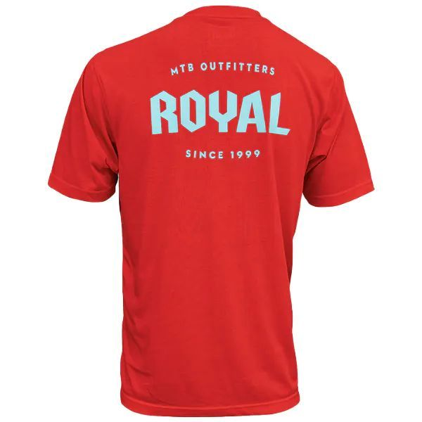 Royal Racing Core Short Sleeve Jersey - Red