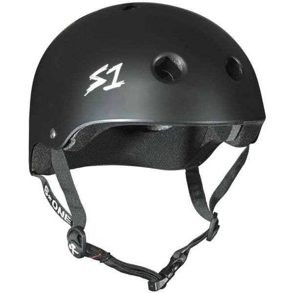 S1 Lifer Kids Multi Impact Helmet - Black Matte