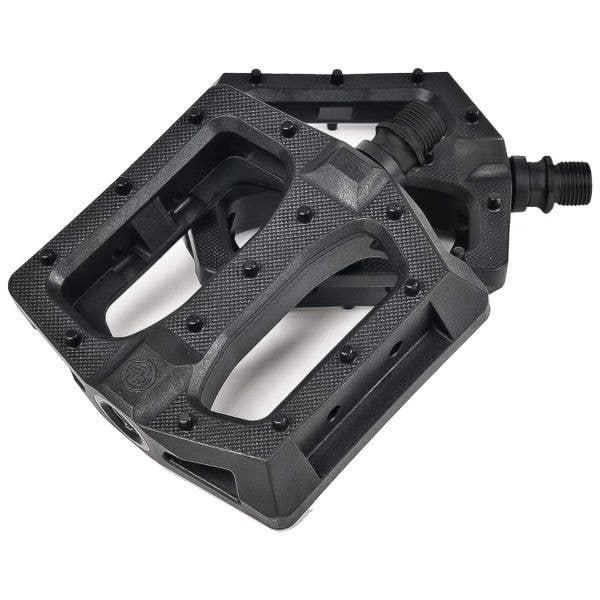 Saltplus Echo 9/16 CNC Alloy Sealed BMX Pedals - Black