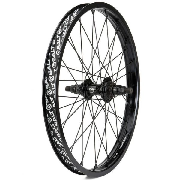 Salt Rookie Cassette 16'' Rear BMX Wheel - Black