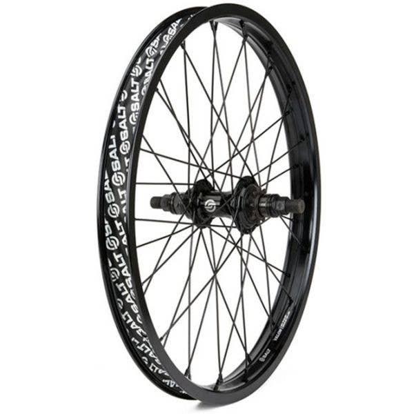 Salt Rookie Cassette 18'' Rear BMX Wheel - Black