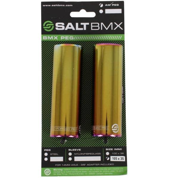Salt AM Steel BMX Peg - Oilslick