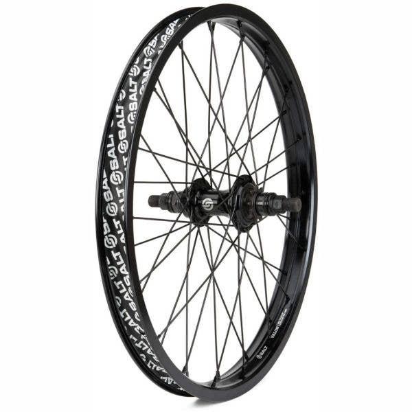 Salt Rookie Cassette 20'' 36H BMX Rear Wheel - Black