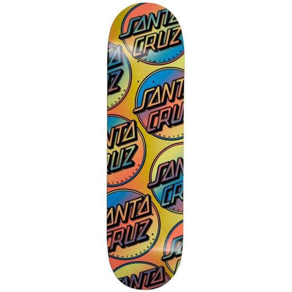 Santa Cruz Contra Allover Skateboard Deck - Multi 8.25''
