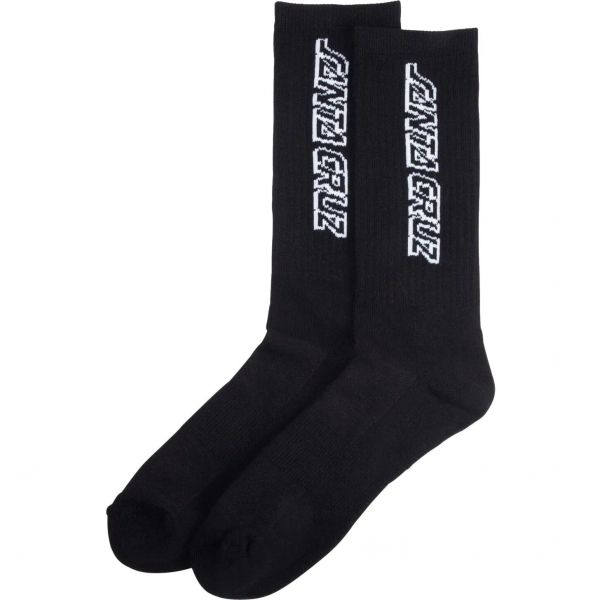 Santa Cruz Classic Strip Socks - Black