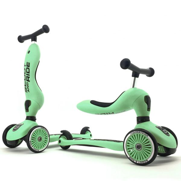 Scoot and Ride Highway Kick 1 Kids Scooter - Kiwi