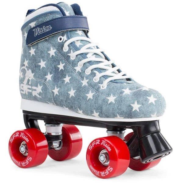 SFR Vision Canvas Quad Roller Skates