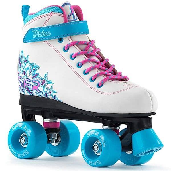 SFR Vision II Roller Skates - White/Blue