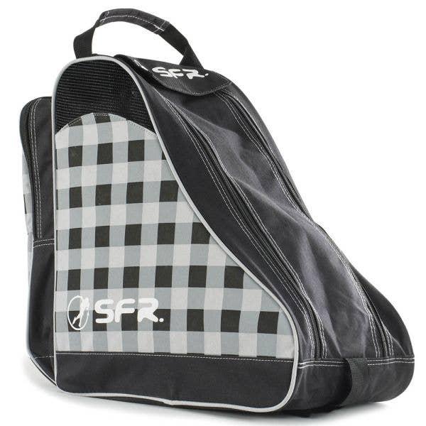 SFR Ice Skate Bag - Designer Black Chequered