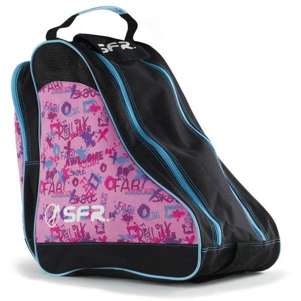 SFR Ice Skate Bag - Designer Pink Graffiti