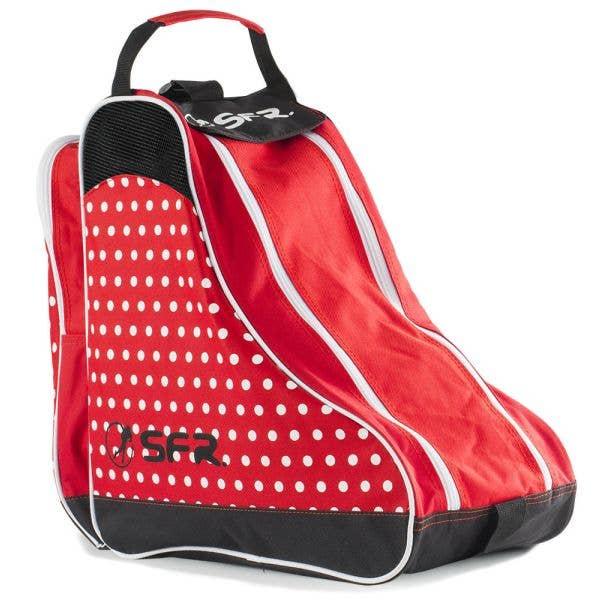SFR Ice Skate Bag - Designer Red Polka Dot