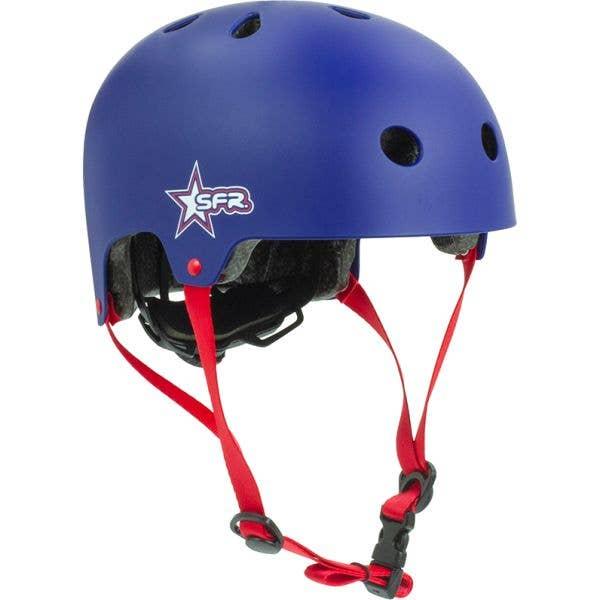 SFR Adjustable Kids Helmet - Blue/Red (XXXS-XS / 46-52cm)