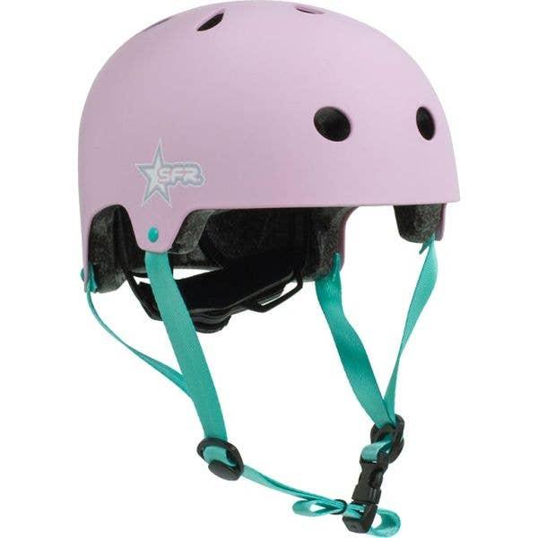 SFR Adjustable Kids Helmet - Pink/Green (XXXS-XS / 46-52cm)