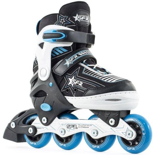 SFR Kids' Inline Skates - Pulsar Adjustable Blue