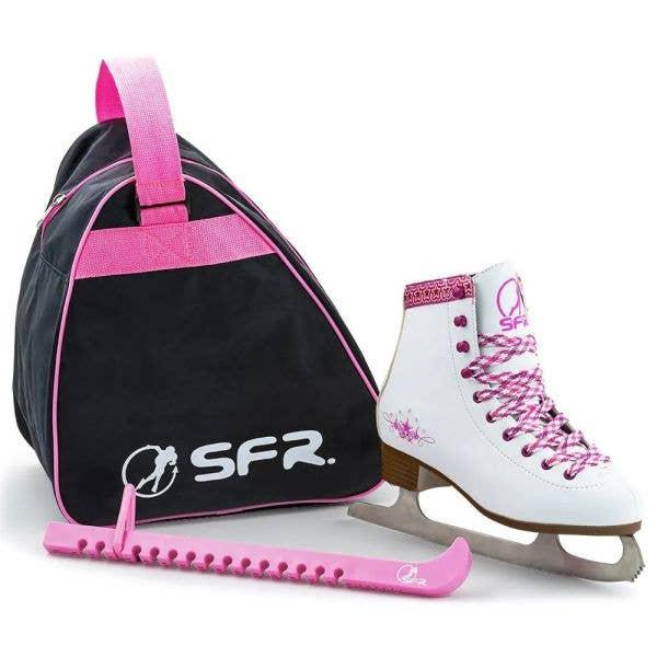 SFR Junior Figure Ice Skate Pack - White