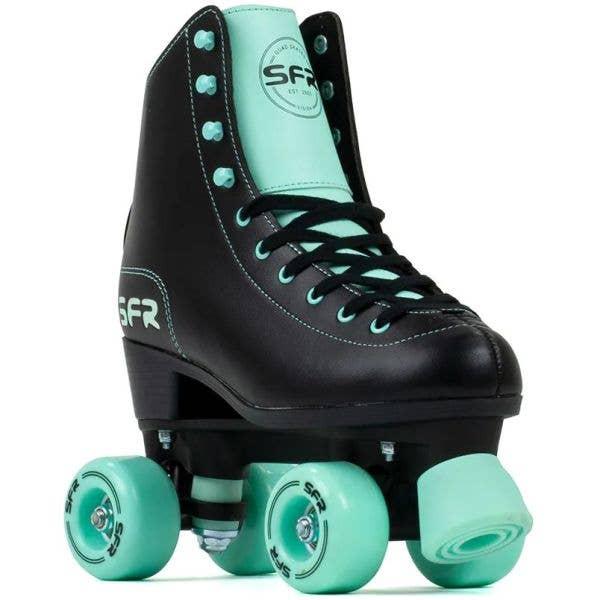 SFR Figure Quad Roller Skates - Black/Mint