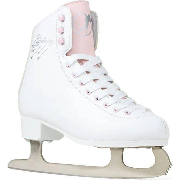 SFR Galaxy Cosmo Ice Figure Skates - White/Pink