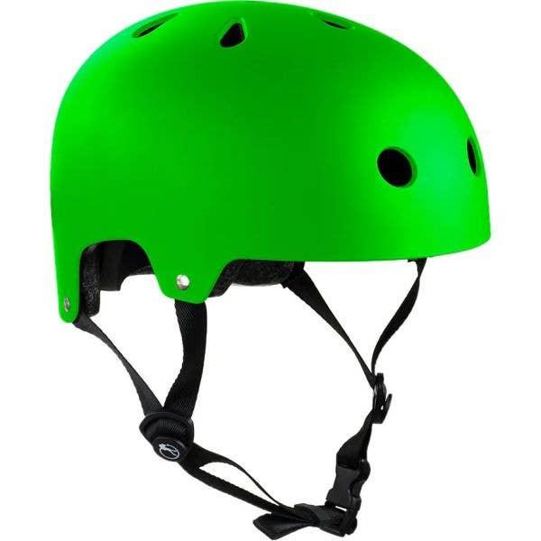 SFR Essentials Helmet - Matt Fluo Green
