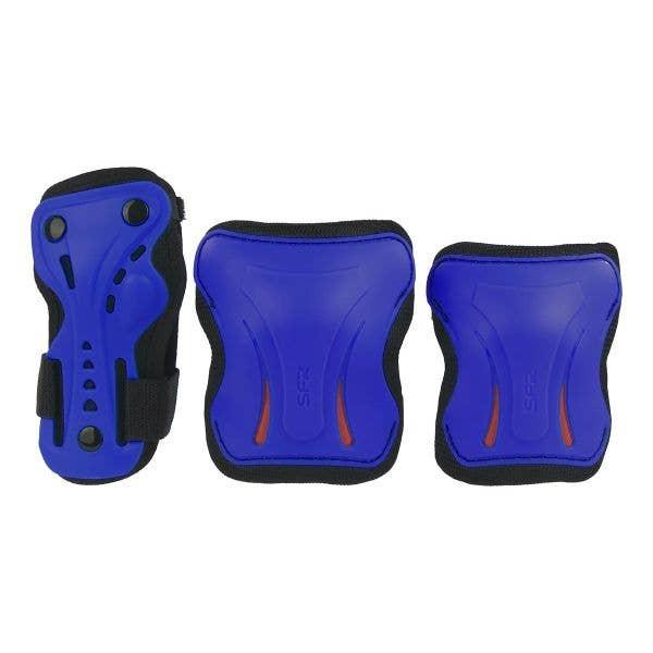 SFR Essentials Triple Pad Set - Blue / Black / Red