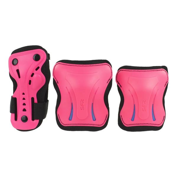 SFR Essentials Triple Pad Set - Pink / Black / Blue