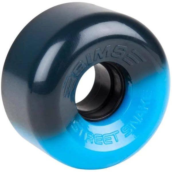 Sims Street Snakes 2 Tone 62mm Quad Roller Skate Wheels - Blue/Black
