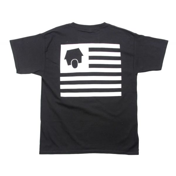 SkateHut StateHut Kids T Shirt - Black/White