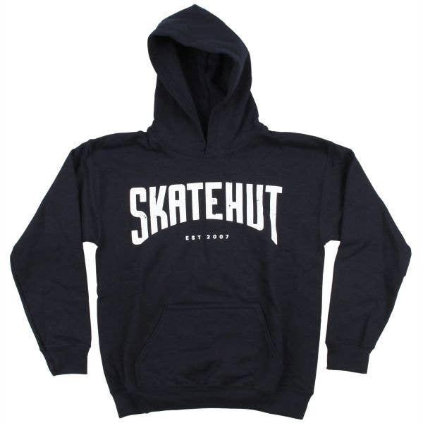 SkateHut Arc Kids Hoodie - Navy