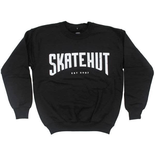 SkateHut Arc Kids Sweatshirt - Black