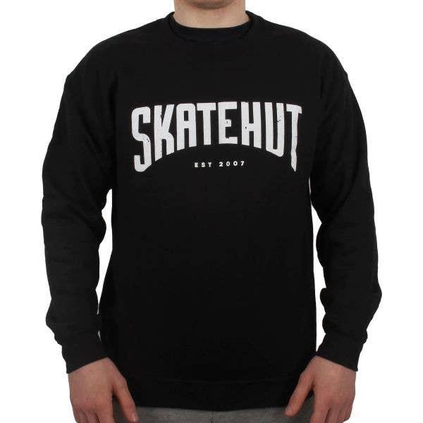 SkateHut Arc Sweatshirt - Black