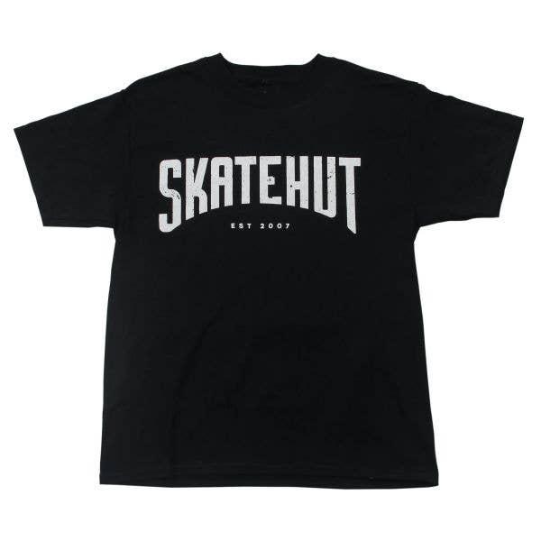 SkateHut Arc Kids T Shirt - Black