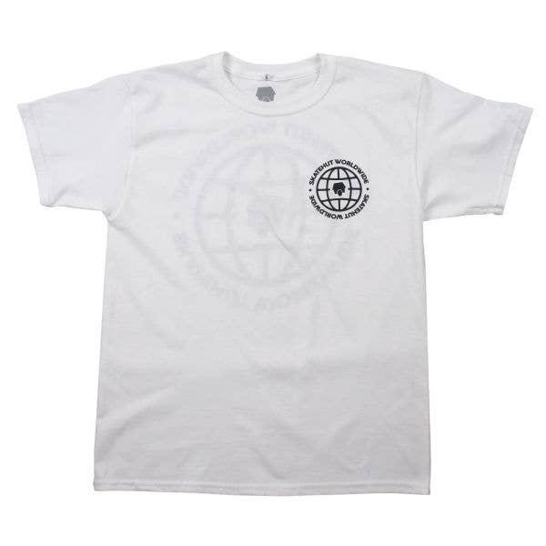 SkateHut Worldwide Kids T Shirt - White
