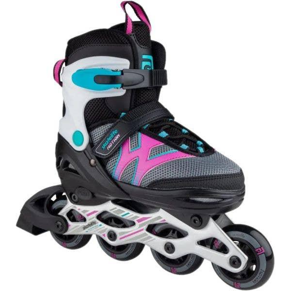 Skatelife Motion Adjustable Inline Skates - Black/Pink