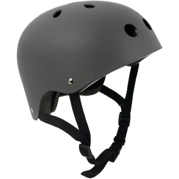 SkateHut Helmet - Matte Grey